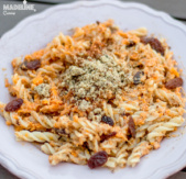 Paste cu nuca si cartof dulce / Sweet potato & walnut pasta
