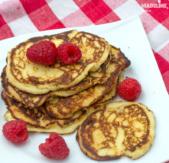 Clatite keto cu faina de cocos / Keto coconut flour pancakes
