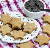 Biscuiti cu magiun / Sugar-free jam cookies