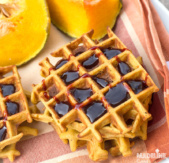 Gaufre cu dovleac / Pumpkin waffles