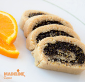 Rulada raw cu mac / Raw poppy seed roll