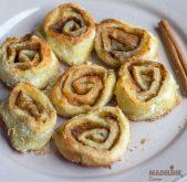 Rulouri keto cu scortisoara / Keto cinnamon rolls