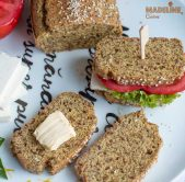Paine keto cu seminte de in / Keto flaxseed bread