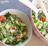 Tabbouleh de quinoa / Quinoa Tabbouleh